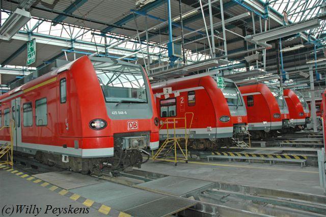 M Nchen Depot Depot S Bahn
